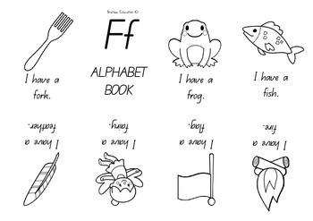 Alphabet Mini Books COMPLETE SET OF 26