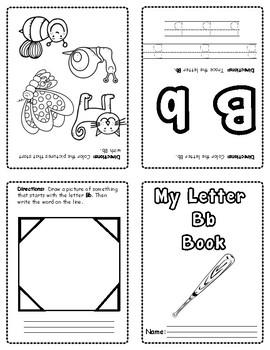 Alphabet Mini Books (Sample)