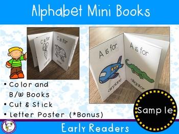 Alphabet Mini Books Sample (Freebie)
