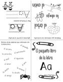 Alphabet Mini Books Spanish / Pequeños libros del Alfabeto