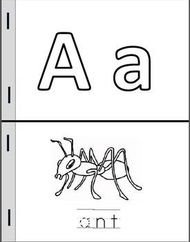 Alphabet Mini-Books (Tracing Version)