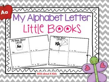 Alphabet Mini Books for Each Letter