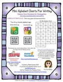 Alphabet Mini Charts (Handwriting/Letter Formation)