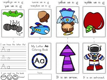 Alphabet Mini Coloring Book