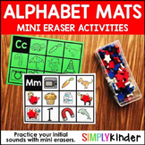 Alphabet Mini Eraser Activities - Initial Sound Cards