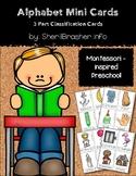 Alphabet Mini Flash Cards - Set 1   Color