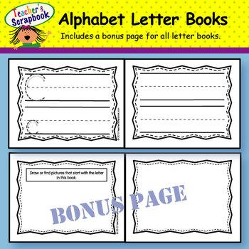 Alphabet Mini Letter Books