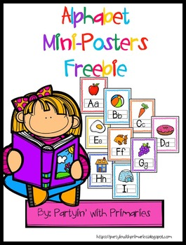 Alphabet Mini Posters Freebie!