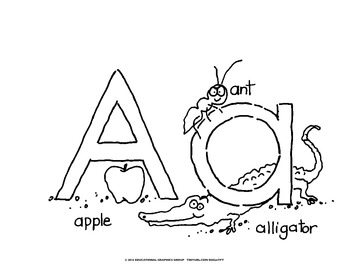 Alphabet Mini-Posters and Worksheets BUNDLE