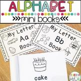 Preschool Printables: Alphabet Letter mini books
