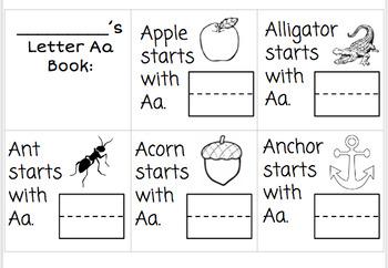 Alphabet Mini-books: Tracing and Writing Bundle!!