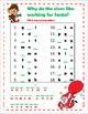 Alphabet Missing Letter -  Christmas / December Riddles & Jokes