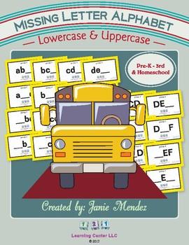Alphabet: Missing Letter Deck