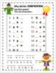 Alphabet Missing Letter -  THANKSGIVING Secret Message & Riddles
