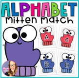 Alphabet Mitten Match