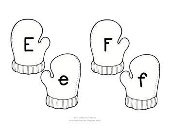 Alphabet Mitten Matching