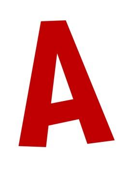 Alphabet Mobile Classroom Decoration
