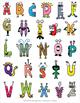 Alphabet Monster Posters