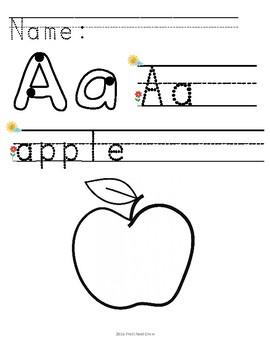 Alphabet Morning Work v1