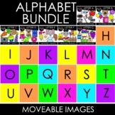 Alphabet Moveable Images: MEGA BUNDLE  {Creative Clips Clipart}