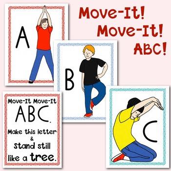 Alphabet Movement Cards: Multisensory Learning for PreK an