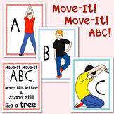 Alphabet Movement Yoga Cards: Multisensory Learning for Pr