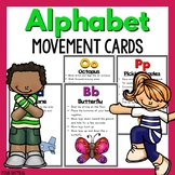 Alphabet Movement Cards