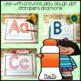Alphabet Multi Purpose Mats: Play Dough, Dot Stamps, Crayons & Markers