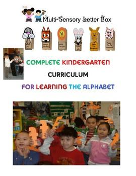 Alphabet: Multi-Sensory Letter Box Activities