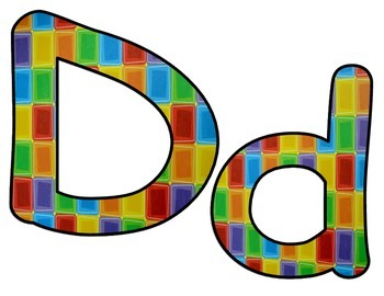 Alphabet Multi colored