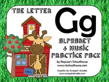 Alphabet & Music Pack - The Letter G - With Craftivity and Recordings!