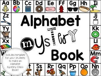 Alphabet Mystery Book