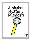 Alphabet Mystery Numbers 0 - 4