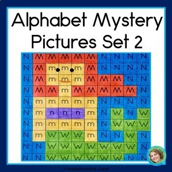 Alphabet Mystery Pictures 2 Letter Learning Fun