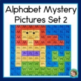 Alphabet Practice Pages set 2 - 26 MORE Mystery Pictures
