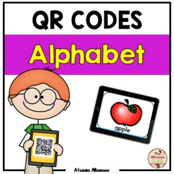 Alphabet Mystery QR Codes