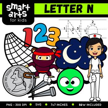 Alphabet N Clip Art