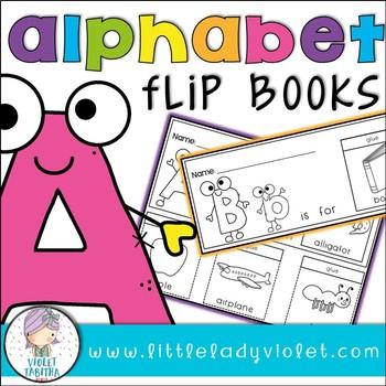 Alphabet NO PREP Flip Books