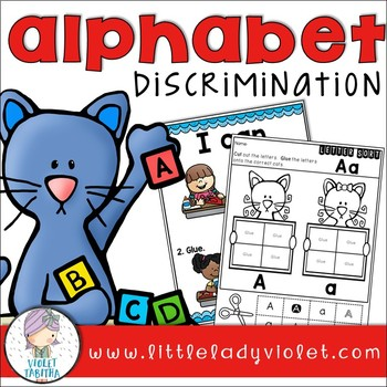 Alphabet NO PREP Letter Identification