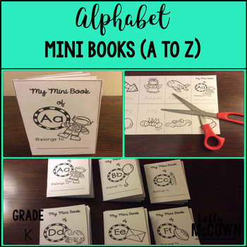 Alphabet NO PREP Mini Books