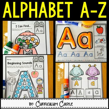 Alphabet: Letters A to Z {Practice & Play}