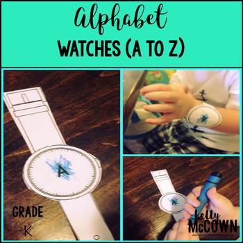 Alphabet NO PREP Watches