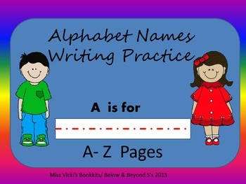 Alphabet Names Journal Pages
