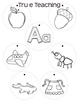 Alphabet Necklaces