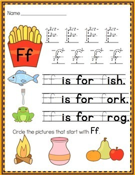 Alphabet No-Prep Printables plus centers for Letter Recognition:Handwriting