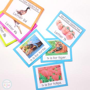 Alphabet Non-Fiction Mini Story Books