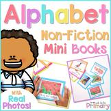 Alphabet Non-Fiction Mini Story Books  | Distance Learning