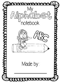 Alphabet Notebook SAMPLE