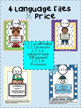 Alphabet, Nouns, Pronouns, Subject-Verb Agreement