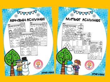 Alphabet & Number Activity